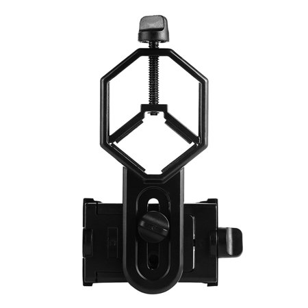 babydream1 Aluminum Alloy Telescope Phone Camera Clamp Clip Monocular Binocular Phone Bracket Holder Mount - image 1 of 9