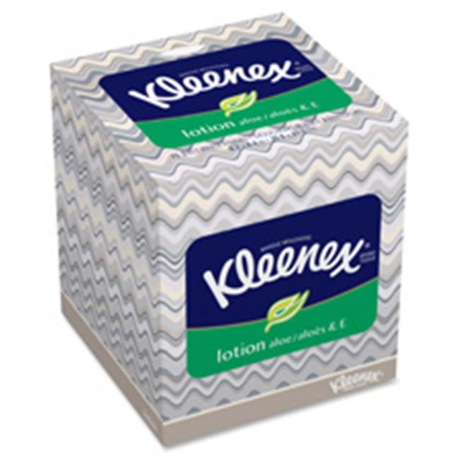 Kimberly-Clark Professional KCC25829CT Kleenex Soothing Lotion Tissue, 27 Per Carton