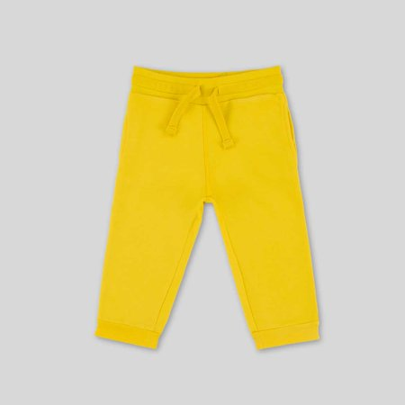 Kids Crop Fleece Jogger - 4-5 Years, yellow