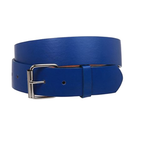 Daily Basic Classic Unisex Genuine Leather Belt with Single Prong Buckle
