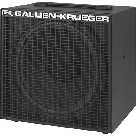 """Gallien-Krueger 112MBX 1X12"""" Bass Extension Speaker Cabinet"""