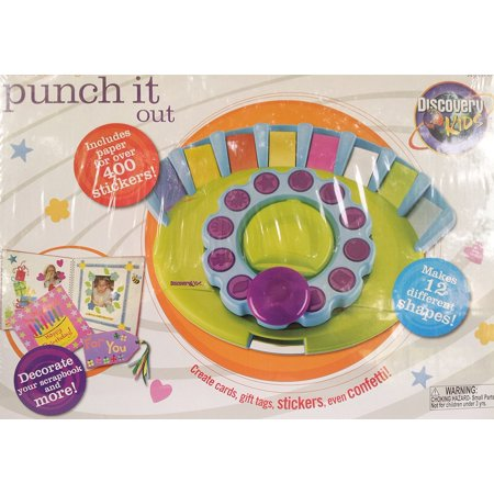 Discovery Kids Scrapbook Designer Punch It Out Walmart