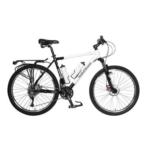 Smith & Wesson Custom Police Force Mountain Bike with 20'' Frame Color: White