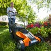 """WORX WG775 14"""" Cordless Electric-Powered Lawn Mower"""