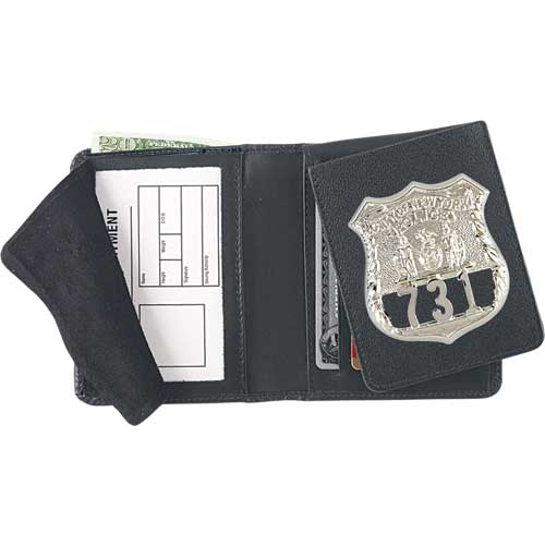 Strong Leather Company - FLIP-OUT BADGE WALLET - 79300-5602 - Strong Leather Company
