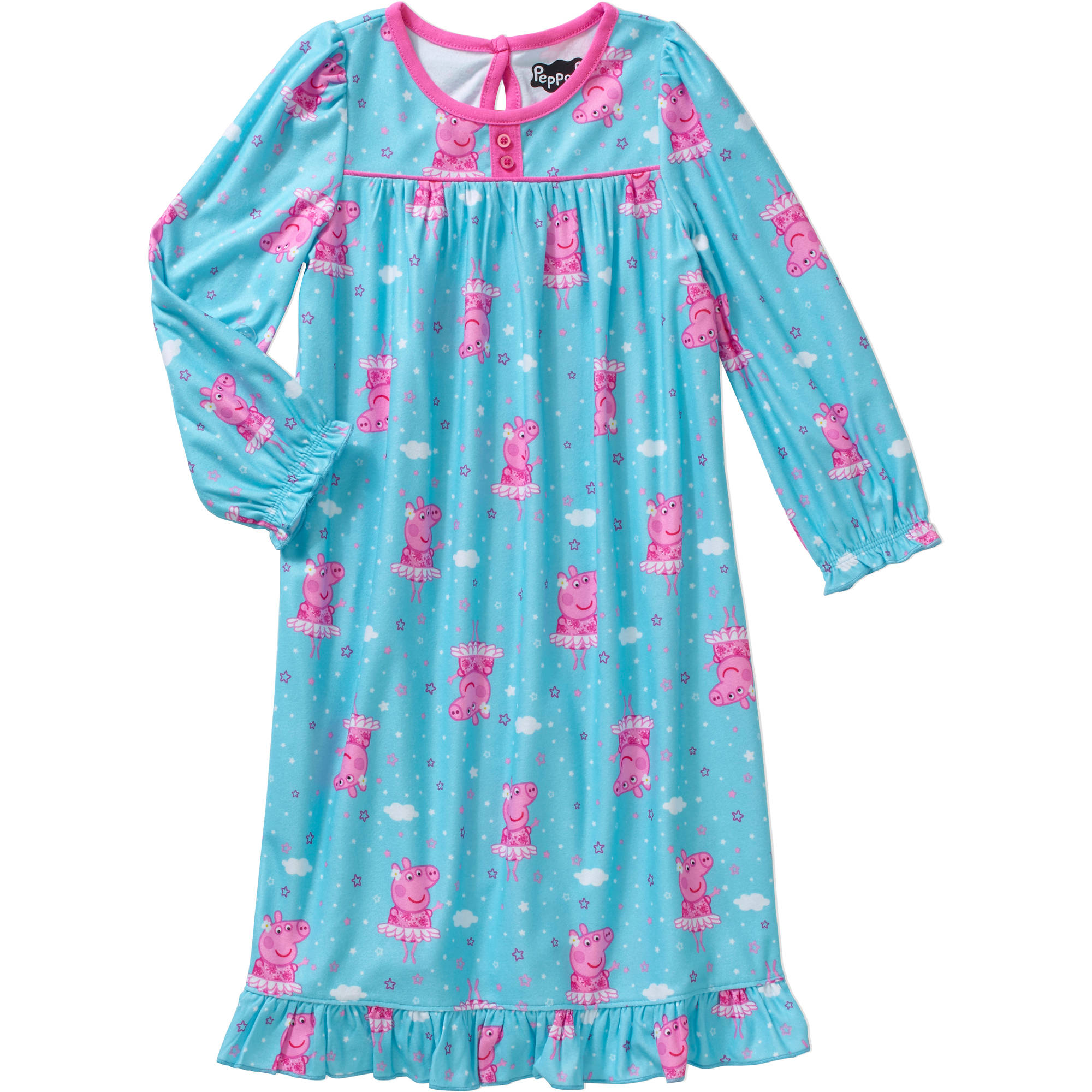 Peppa Pig Toddler Girl Long Nightgown
