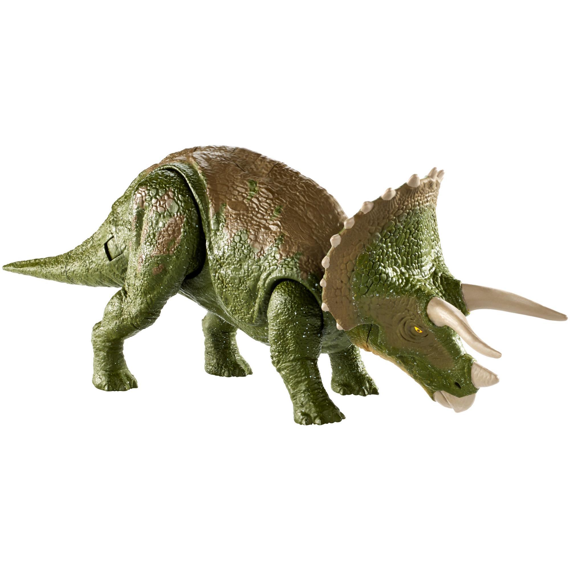 Jurassic World Dino Rivals Dual Attack Triceratops Dinosaur