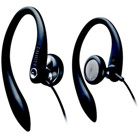 Philips Over-the-Ear Earhook Headphones, SHS3200/37 Phillips Ear Headphones