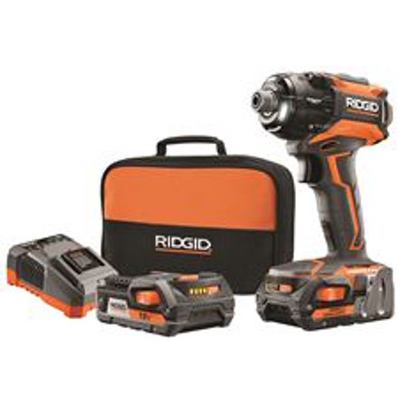 Ridgid 18-Volt Stealth Force Brushless Hyper Lithium-Ion Cordless Pulse Driver Kit