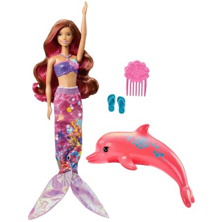 Barbie Dolphin Magic Mermaid Doll with Transforming