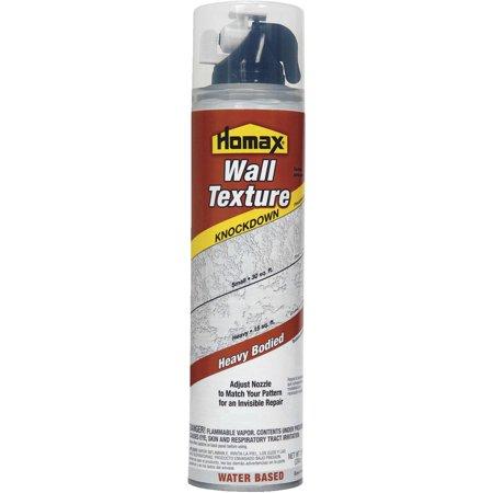 Homax Aerosol Wall Texture, Knockdown, Water Based,10 (Based Aerosol)