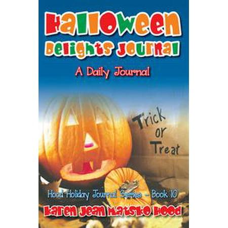 Halloween Delights Journal - eBook (Karen Halloween)