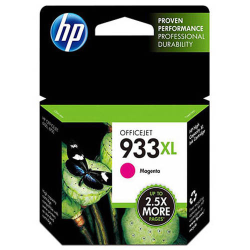 HP 933XL Magenta High Yield Original Ink Cartridge (CN055AN)