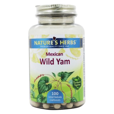 Nature's Herbs - Mexican Wild Yam - 100 Capsules