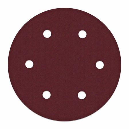 180 Grit Replacement (ALEKO Sanding Disc - 9 In - 180 Grit - 6 Holes - DP-3000 - 10 Pack )