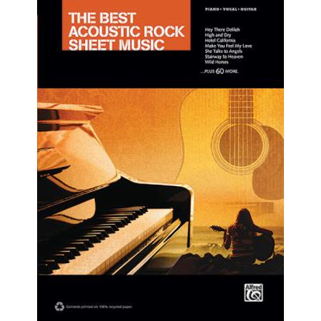 - The Best Acoustic Rock Sheet Music