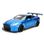 Fast & Furious 1:24 2009 Brian's Nissan GT-R R35 Ben Sopra Die-cast Car Play Vehicles