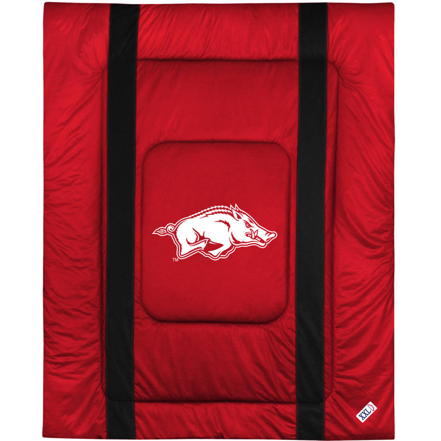 NCAA University of Arkansas Sidelines Comforter