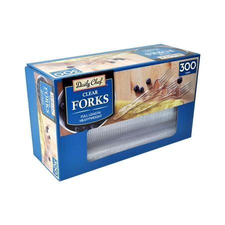 Member's Mark Clear Plastic Forks - 300 ct. - Plastic Forks Bulk