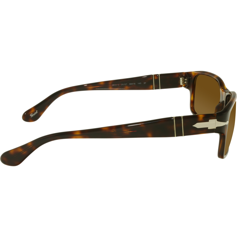 c8864c4f33a Persol - Men s Polarized PO2803S-24 57-58 Tortoiseshell Rectangle Sunglasses  - Walmart.com