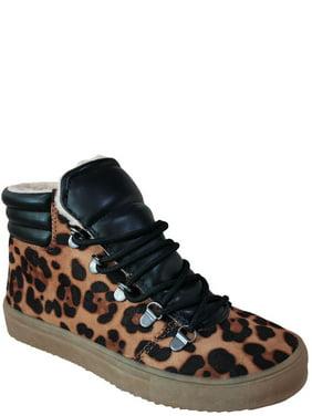 Wonder Nation Faux Fur Lined High-Top Sneaker (Little Girls & Big Girls)