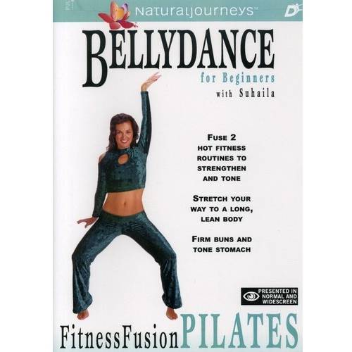 Bellydance Fitness Fusion: Pilates For Beginners - Bellydance Pilates (Full Frame, Widescreen)