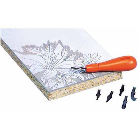 Jack Richeson Linoleum Cutters, Set of 6 (Linoleum Cutter)