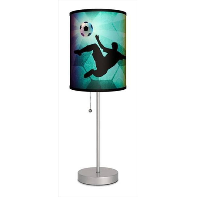 Lamp-In-A-Box SPS-SPO-SOCKI Sports - Soccer Kick Sport Silver Lamp