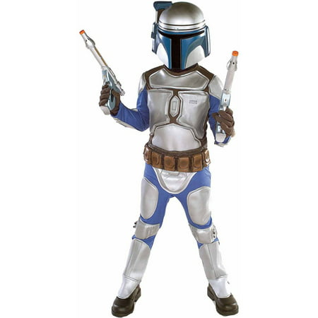 Star Wars Jango Fett Deluxe Boys' Halloween - Star Fox Costume For Sale