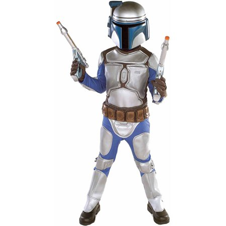Star Wars Jango Fett Deluxe Boys' Halloween Costume](Start Wars Costumes)