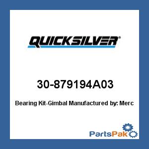Mercury - Mercruiser 30-879194A03 Mercury Quicksilver 30-879194A03 Bearing Kit-Gimbal- ()