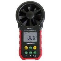 TekPower TP6252A Digital Anemometer Wind Speed Air Velocity Meter, Air Flow Meter