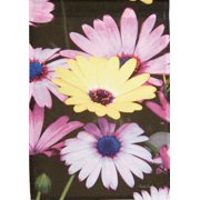 "Colorful Daisies Spring Garden Flag Floral Seasonal by New Creative 12"" x 18"""