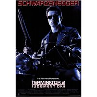 Pop Culture Graphics MOV196019 Terminator 2 Judgment Day Movie Poster, 11 x 17