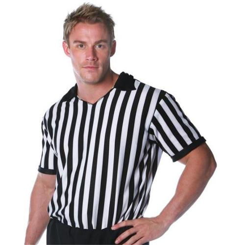 MorrisCostumes UR29013XXL Referee Shirt Adult, 2X-Large