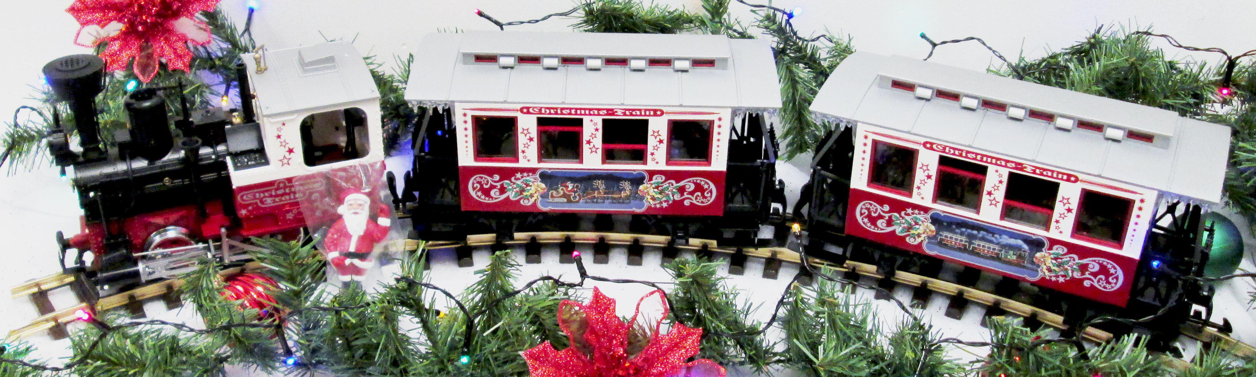 LGB 72304 G Christmas Passenger Train Set by LGB
