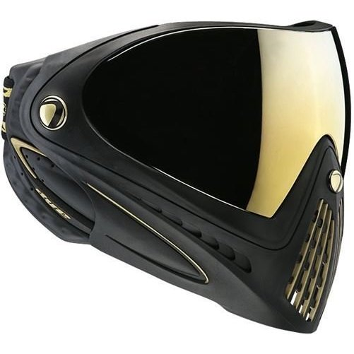 Dye Paintball Precision I4 Thermal Paintball Goggle Black & Gold by Dye Precision