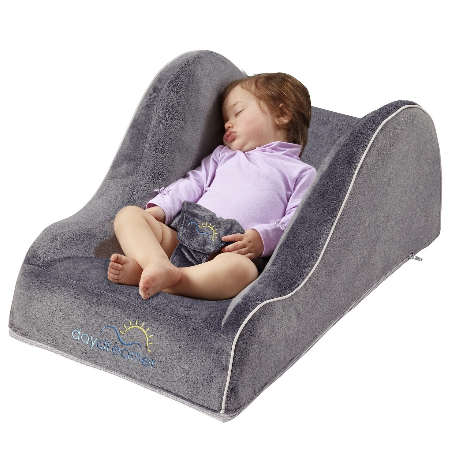 hiccapop Day Dreamer Sleeper Baby Lounger Seat for Infants Travel Bed by hiccapop