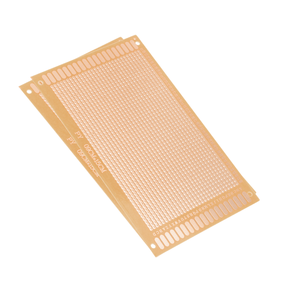 9x15cm Single Sided Universal Paper Printed Circuit Board for DIY Soldering 2pcs