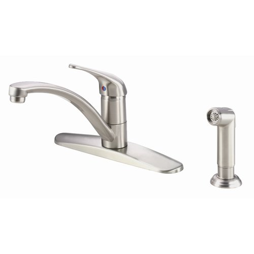 Danze Melrose Single Handle Deck Mount Kitchen Faucet With Spray