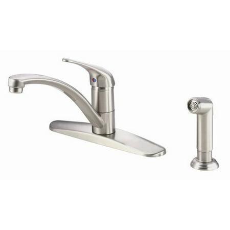 Danze Melrose Single Handle Deck Mount Kitchen Faucet With Spray