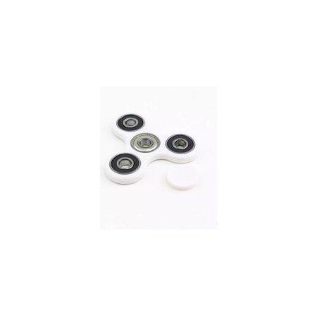 Yard Liquidators Premium Fidget Toy Spinner High Speed The Best White