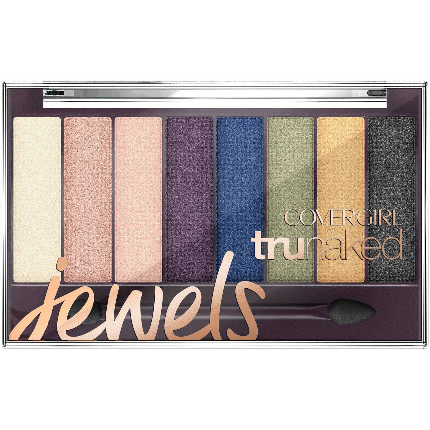 COVERGIRL truNaked Jewels Eyeshadow Palette, 0.23 oz