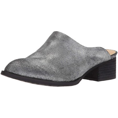 Womens Pointed Toe Casual Mule (Bronze Synthetic Footwear)