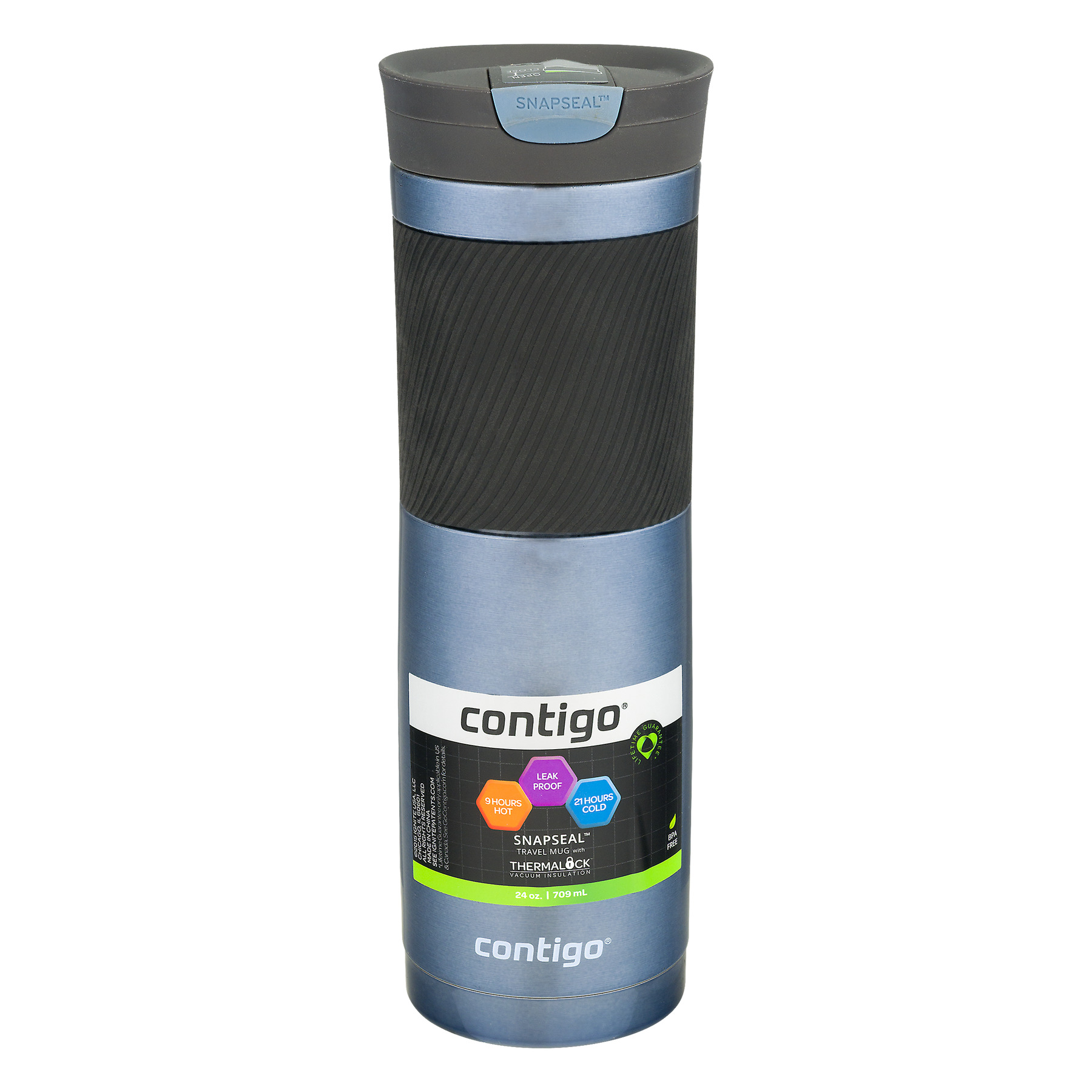 Contigo Byron 24oz Stainless Steel Travel Mug-Stormy Weather