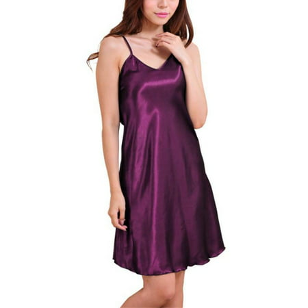 Esho Women Babydoll Lingerie Sleepwear Mini Dress V Neck Nightgown Pajamas - Civil War Gowns For Sale