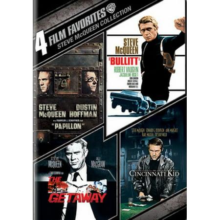 4 Film Favorites: Steve McQueen Collection (DVD)