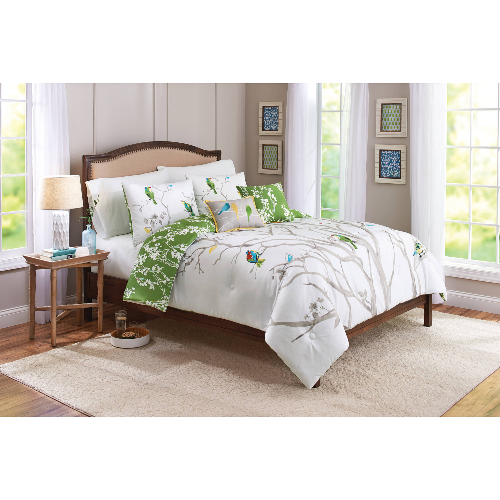 Better Homes Gardens Full Tree Top Comforter Set 5 Piece