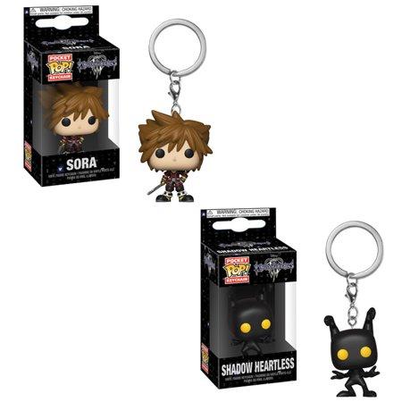 Shadow Spinners Pocket - Funko Pocket POP! Keychain - Kingdom Hearts S2 - SET OF 2 (Sora & Shadow Heartless)