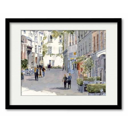 Courtside Market Paris Street Framed Wall - Paris Street Market